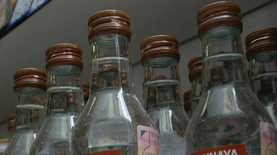 ВВоронеже вовремя специализированной операции  силовики изъяли сотни тыс.  бутылок «левого» алкоголя