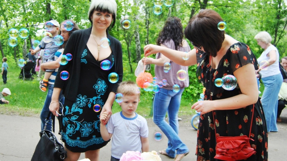 В Семилуках в выходные пройдет первый фестиваль мыльных пузырей