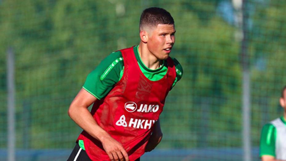 Футболист воронежского «Факела» попал в юношескую сборную России