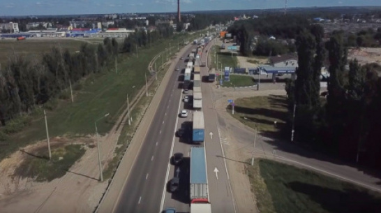 Дорожники: трафик в Лосево Воронежской области выше нормы в 1,5 раза