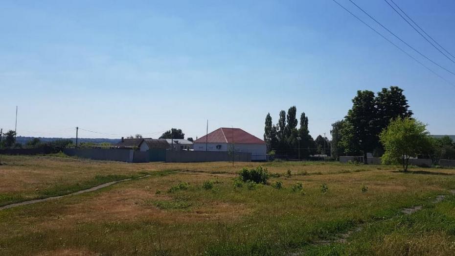 В новоусманском селе Орлово на создание сквера потратят более 3,6 млн рублей