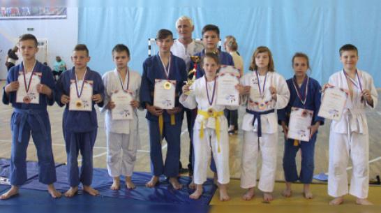 Каширские спортсмены завоевали 4 «золота» областного турнира по дзюдо