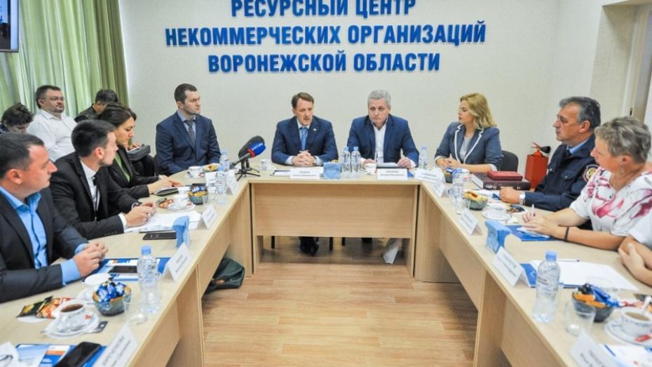 Воронежский губернатор призвал общественников к активности