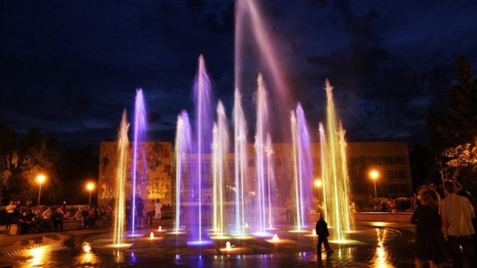 В Лискинском парке культуры и отдыха началось строительство нового фонтана