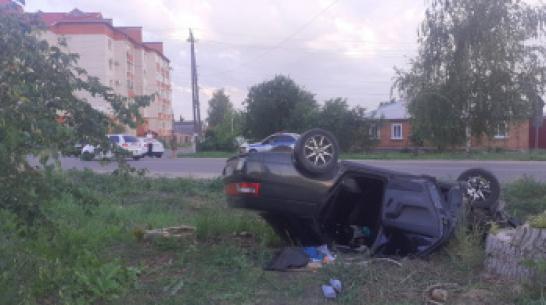 Пьяный житель Воронежской области перевернулся на «десятке» с 4 пассажирами
