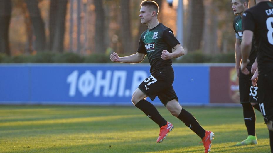 Воронежский футболист дебютировал в Премьер-лиге в составе «Краснодара»