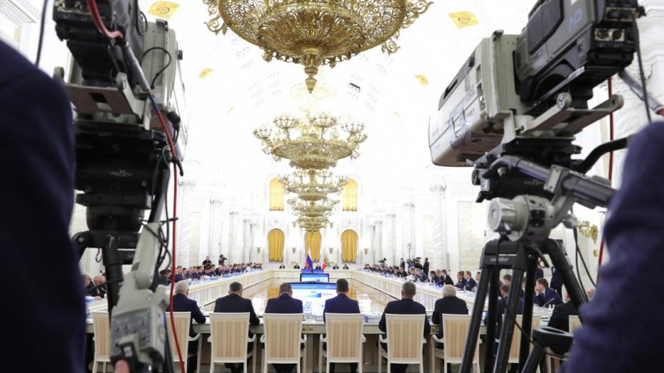Губернатор Воронежской области поучаствовал в заседании Госсовета по качеству дорог