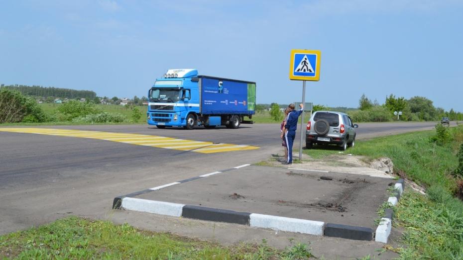 В Эртильском районе украли автобусную остановку