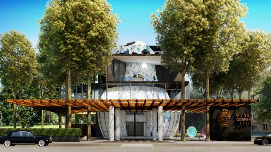 В воронежском парке «Орленок» начали строить центр современного искусства
