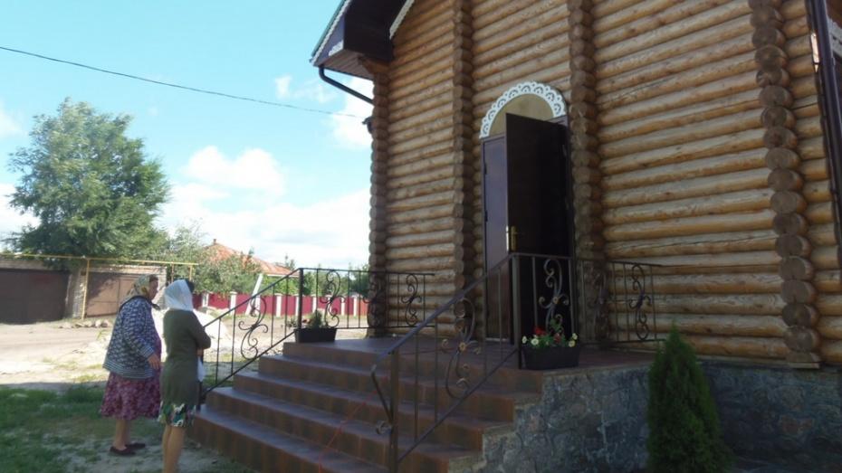В верхнемамонском селе откроется новый храм