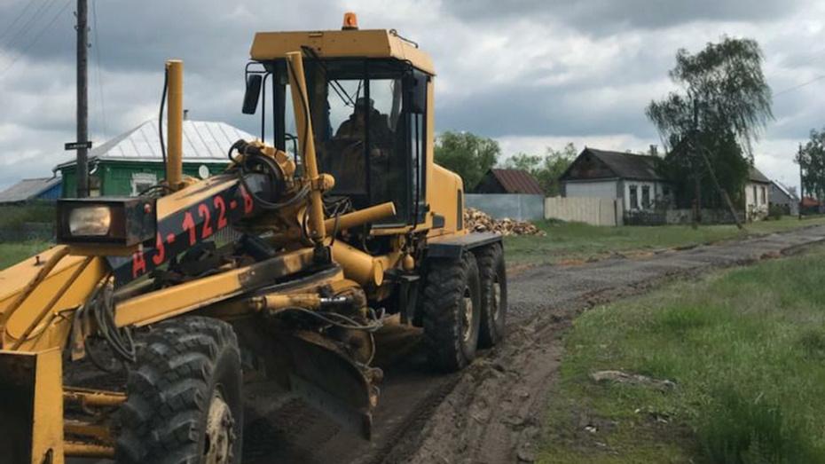 В Таловском районе в 4 населенных пунктах проведут дорожные работы