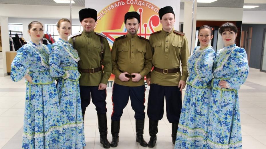 Хохольские артисты стали лауреатами фестиваля солдатской и патриотической песни