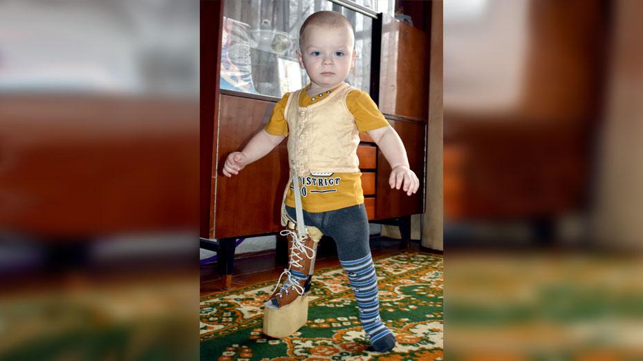 Семья из Калачеевского района попросила помощи в сборе 170 тыс рублей на лечение сына