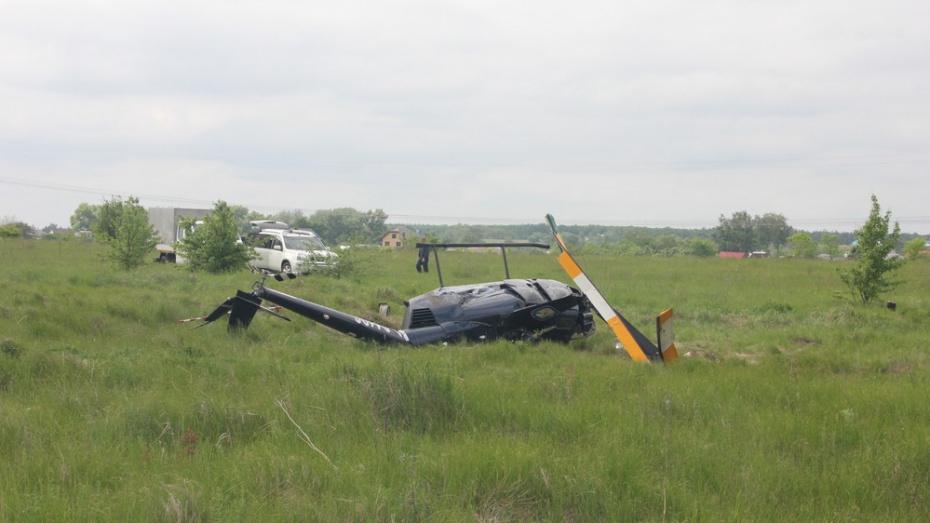 Пилот заплатит 100 тыс рублей за жесткую посадку вертолета в Воронежской области