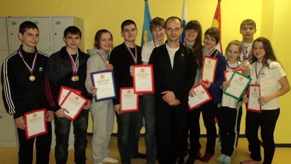 Хохольские пловцы заняли первое место в областной спартакиаде школьников