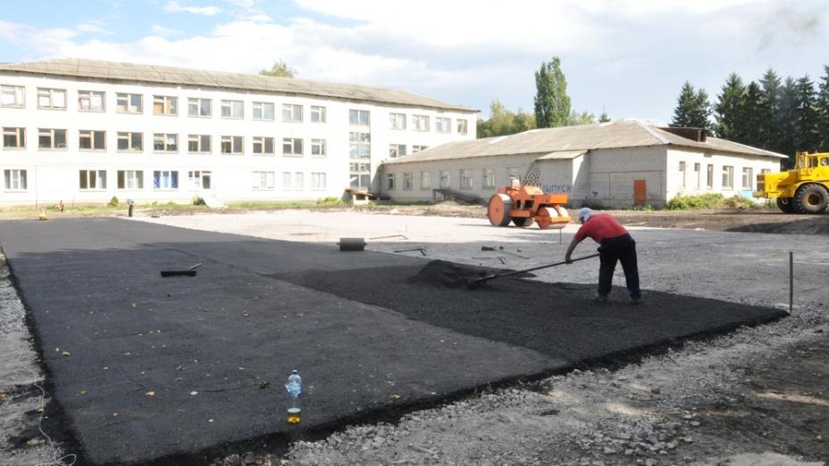 В селе Перво-Эртиль построят многофункциональную спортплощадку