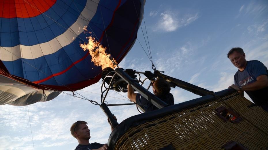 Десять воздушных шаров взлетят с Адмиралтейской площади Воронежа