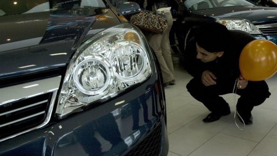 В Воронежской области доля новых легковушек на рынке составила 20