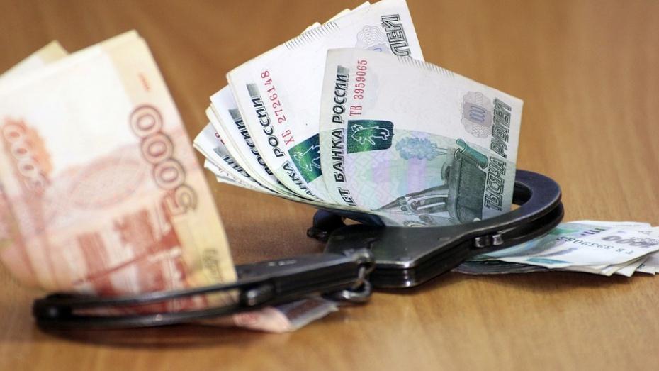 В Воронежской области ущерб от экономических преступлений за год составил 2,3 млрд рублей