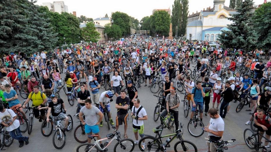 Активисты «ВелоВоронежа» помогли организовать Велоночь в Петрозаводске