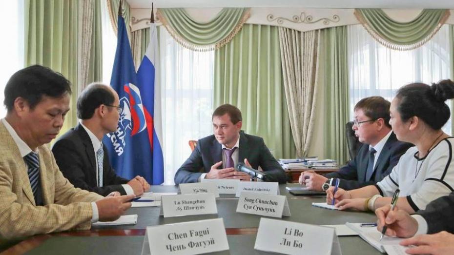 Воронежская облдума и делегаты КНР разработают совместную «дорожную карту»