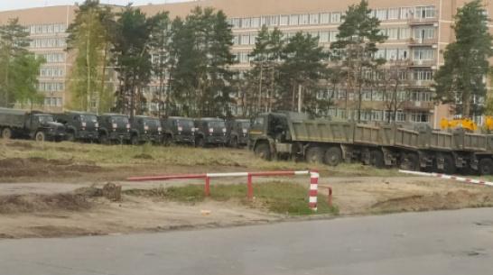Быстровозводимую инфекционную больницу в Воронеже построили на 8%