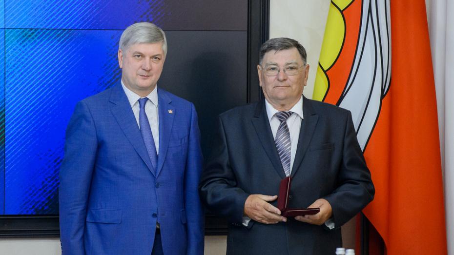 Бутурлиновский аграрий получил звание заслуженного работника сельского хозяйства