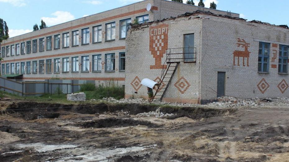 В Ольховатском районе на строительство спортзала в сельской школе потратят 32 млн рублей