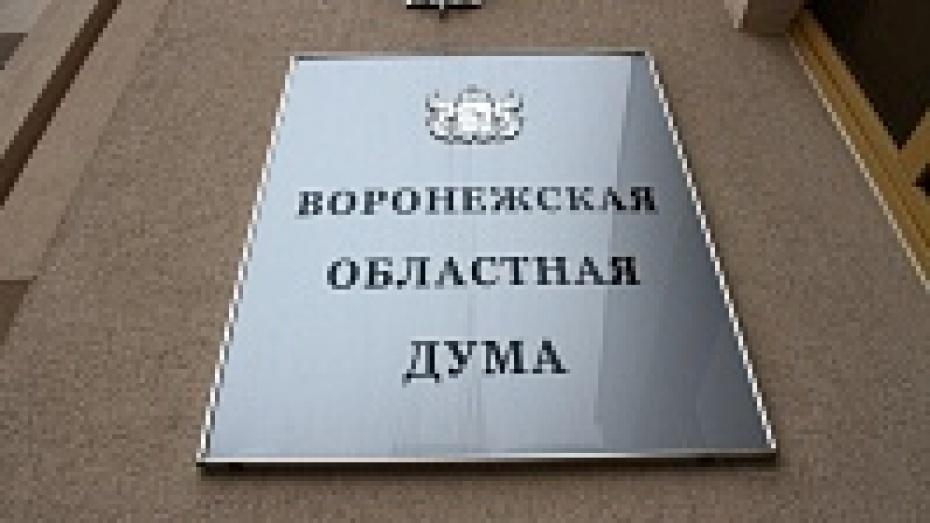 Депутаты воронежской облдумы удвоили жилплощадь инвалидам боевых действий