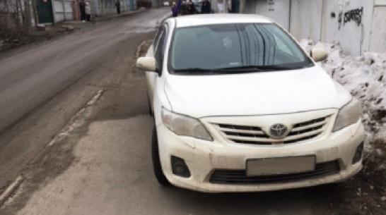 Воронежская полиция оштрафовала водителя после публикации в Сети фото с нарушением ПДД