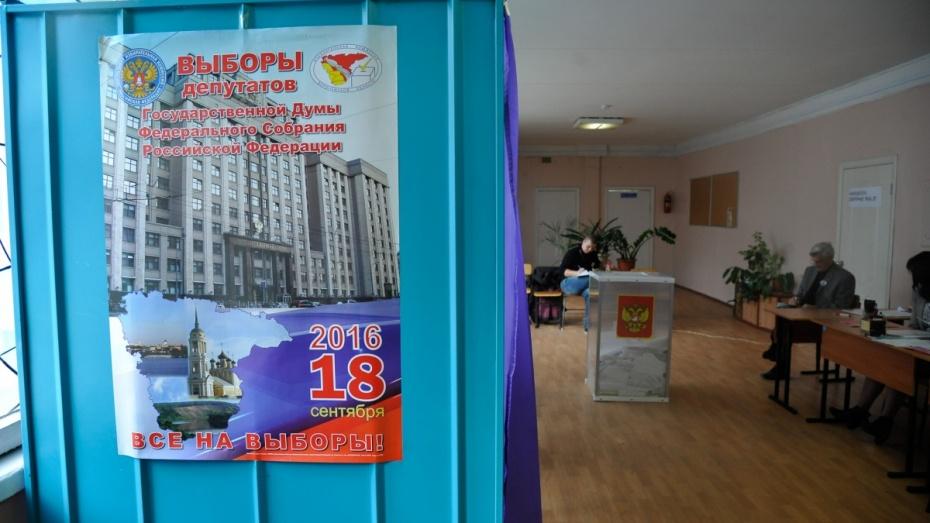 Одномадатники от«Единой России» вВоронеже получили перевес вголосовании