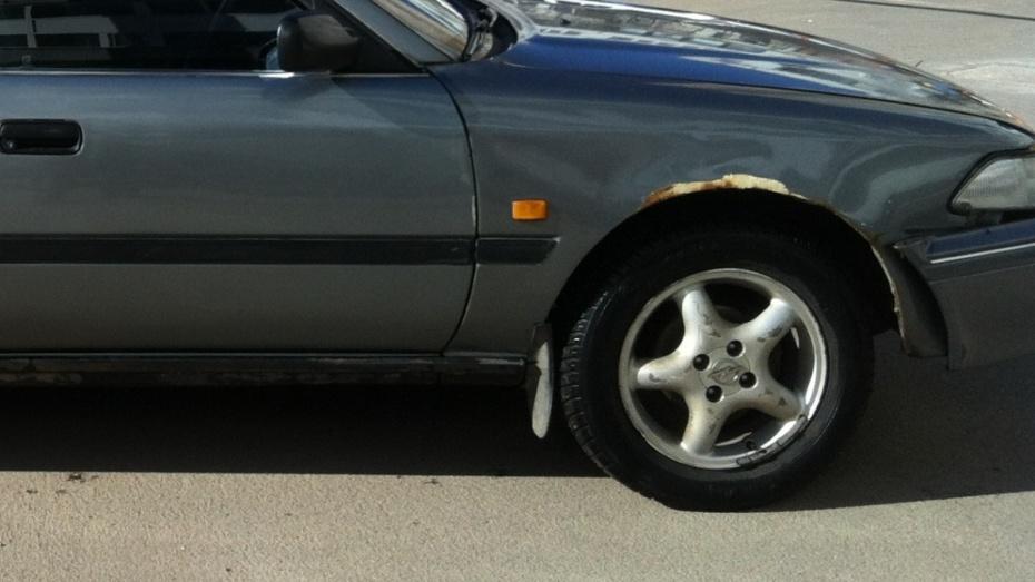 В Воронеже под колесами Toyota погиб неизвестный мужчина