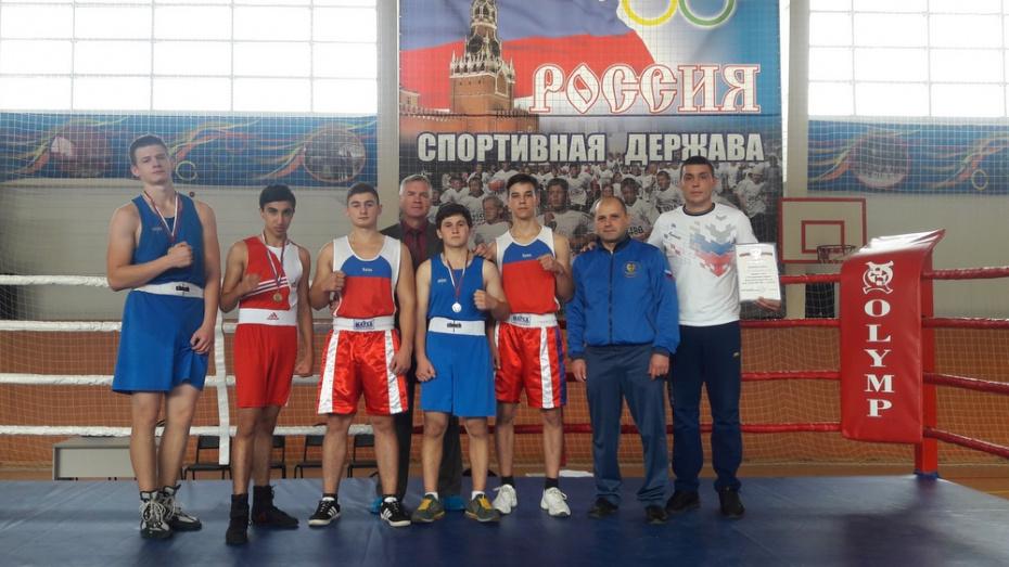 Богучарские боксеры заняли 1-е место на XVI Спартакиаде учащихся Воронежской области