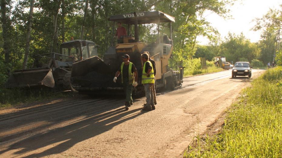 В хохольском хуторе Парничный на ремонт дороги потратили более 2,3 млн рублей