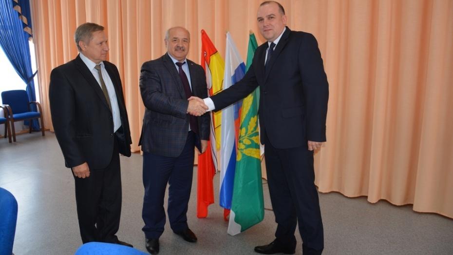 Губернатор Воронежской области похвалил нового главу Поворинского района