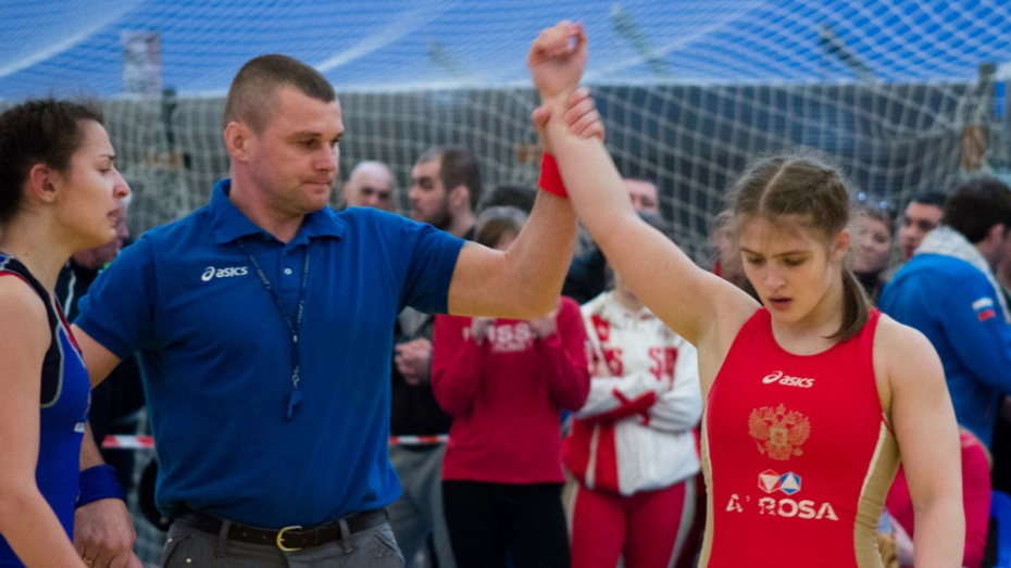 Воронежская спортсменка выиграла чемпионат Европы по борьбе