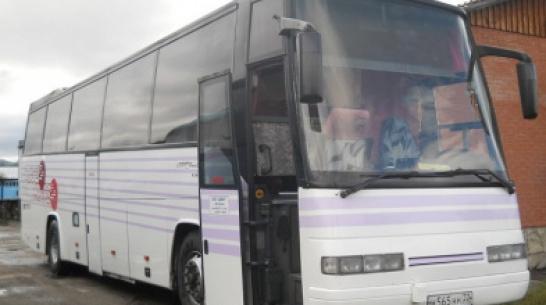 В Воронежской области междугородний автобус с 33 пассажирами столкнулся с «Газелью»