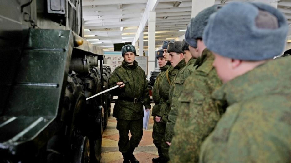 В Острогожском учебном центре осваивают новую военную технику