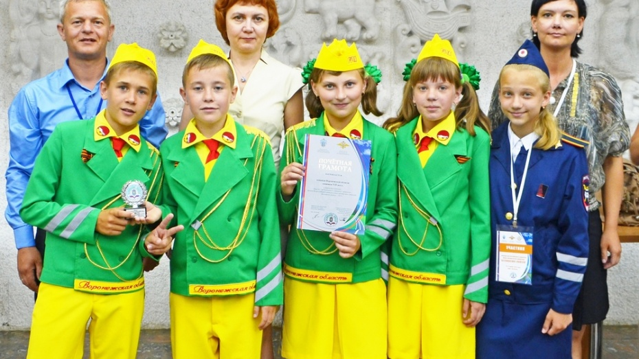 Юные инспекторы движения из Боброва успешно выступили на всероссийском конкурсе