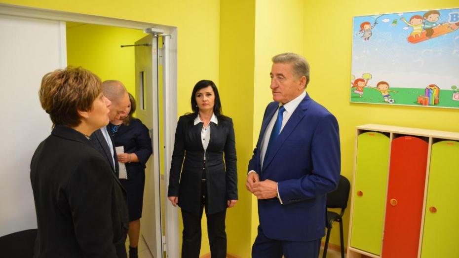 Новый детсад в воронежском Подклетном появился благодаря помощи сенатора Сергея Лукина