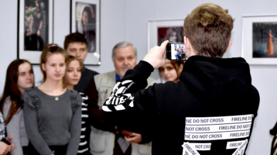 В Калаче открылась выставка работ местного фотографа Виктора Игошкина