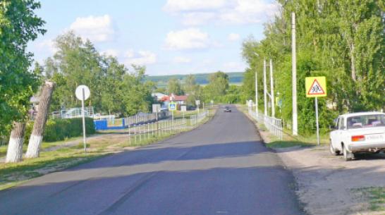В Грибановском районе на ремонт дорог местного значения потратят 42,8 млн рублей