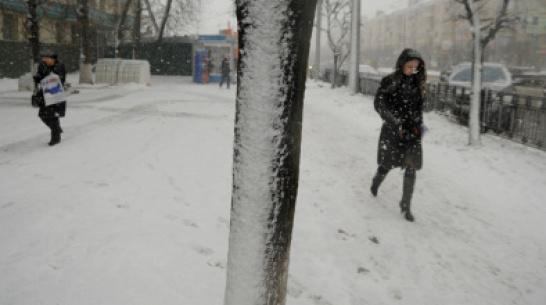Последняя неделя зимы в Воронеже будет теплой и снежной