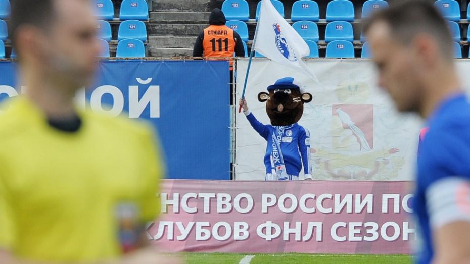 «Молодежка» воронежского «Факела» осталась без обязательных соревнований РФС