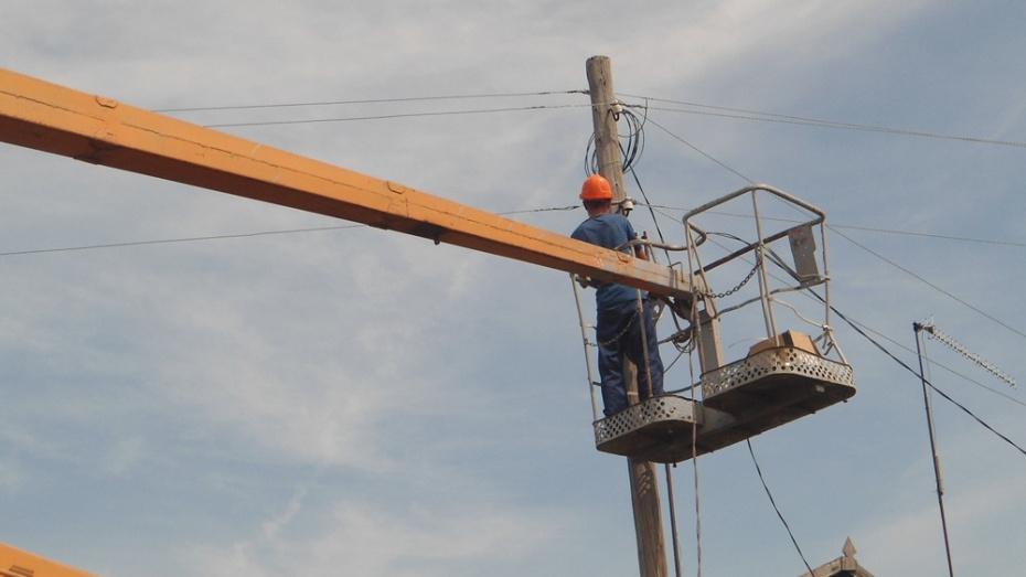 В подгоренском селе Колодежное отремонтируют уличное освещение