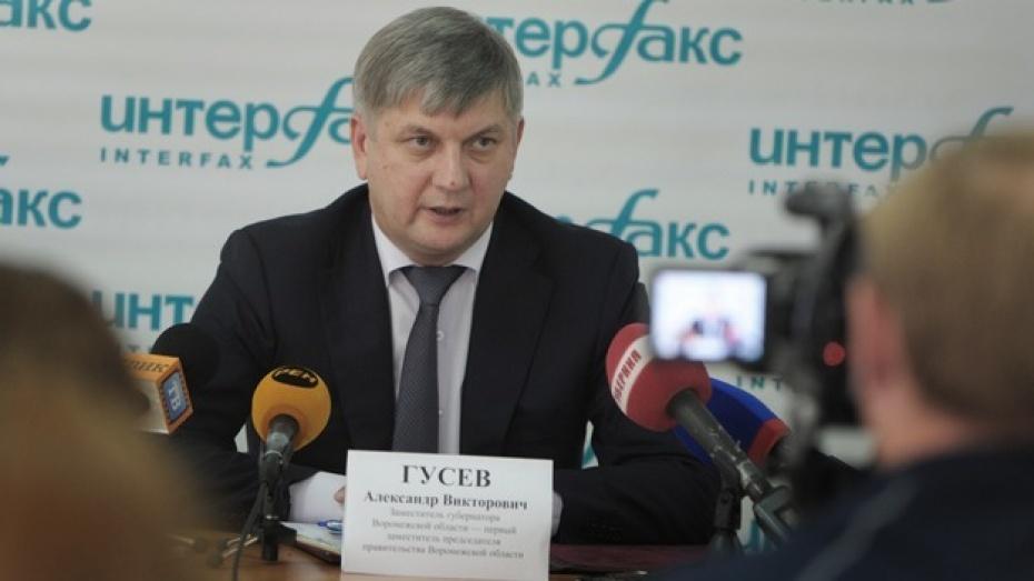 Вице-губернатор Александр Гусев: «Неиспользуемые промзоны Воронежа нужно отдать малому и среднему бизнесу»