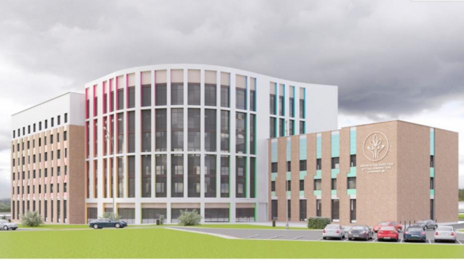 Строительство онкогематологического корпуса детской больницы в Воронеже начнут в 2020 году