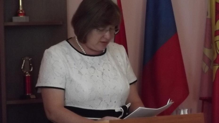 Терновскую районную администрацию возглавила Ирина Белова