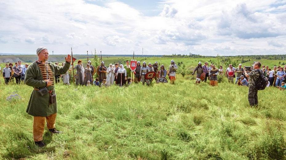 В Хохольском районе на фестивале исторической реконструкции покажут битву славян с хазарами