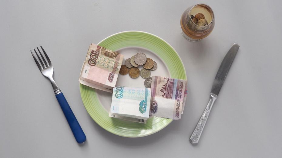 Средняя зарплата жителей Воронежской области выросла на 12,6% за полгода